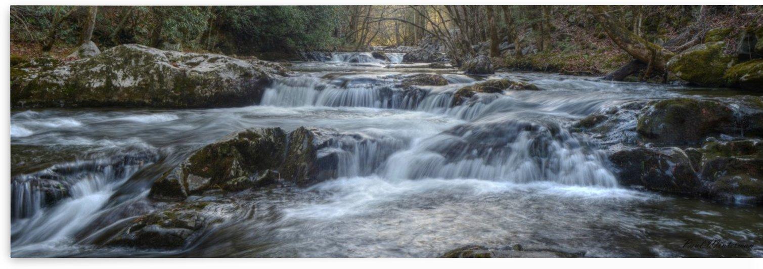 Smoky Mountain River by Paul Winterman