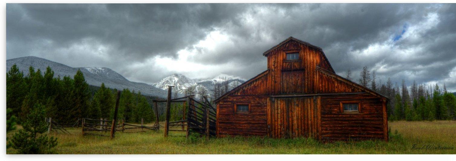 Rocky Mountain Barn 2 by Paul Winterman