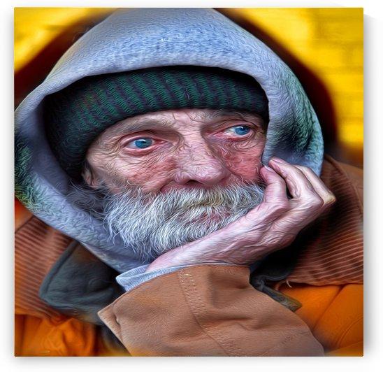 homelessman2 by Chazzi R  Davis