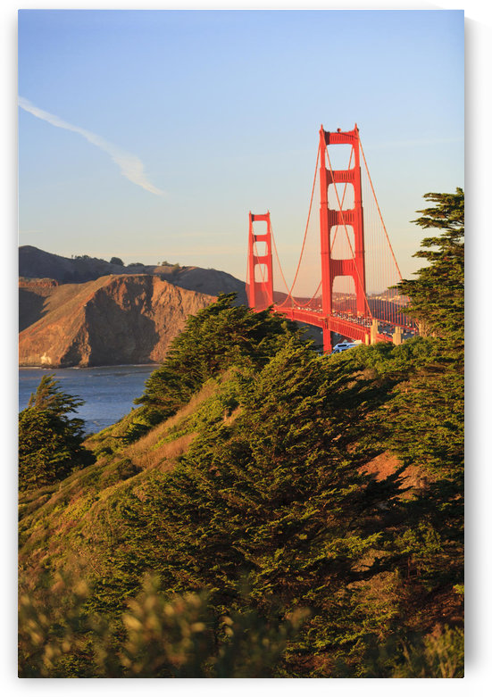 View Of Golden Gate Bridge; San Francisco, California, United States of America by PacificStock