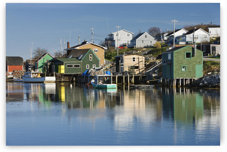 Shaw's Landing At West Dover. Nova Scotia by PacificStock