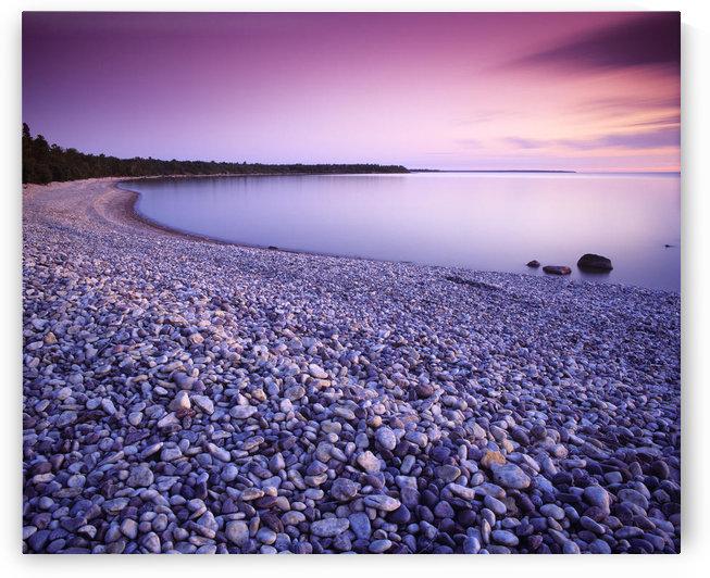 Hillside Beach, Lake Winnipeg, Manitoba by PacificStock