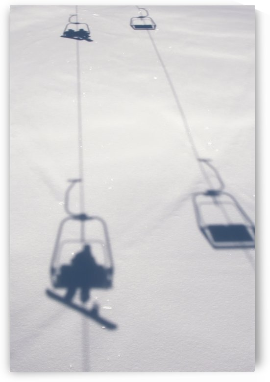 Chairlift at Lech Ski Resort; Austria by PacificStock
