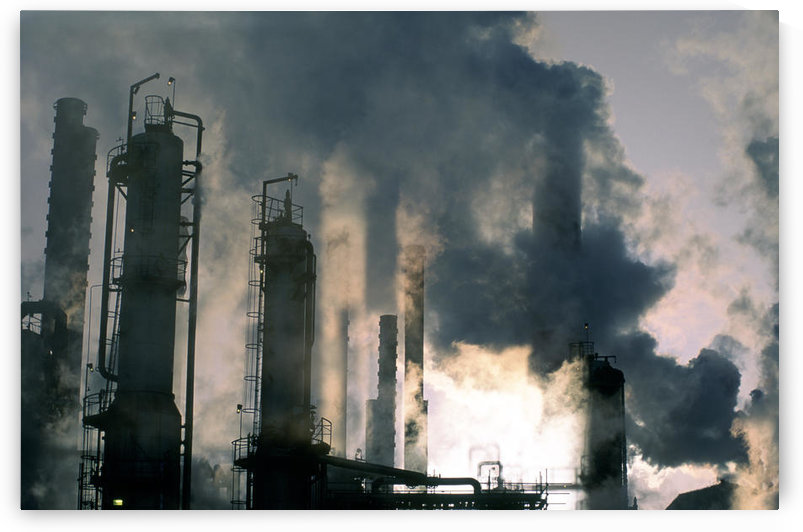 Oil Refinery, Pollution by PacificStock