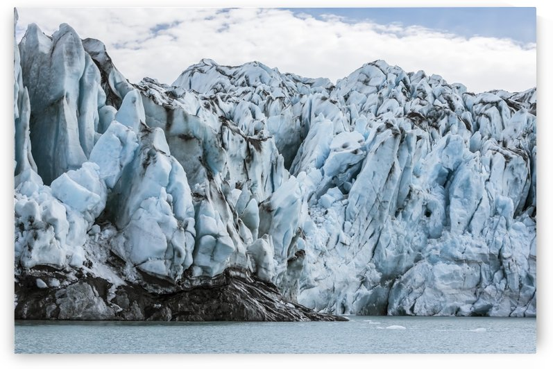 Front face of Colony Glacier, South-central Alaska; Alaska, United States of America by PacificStock