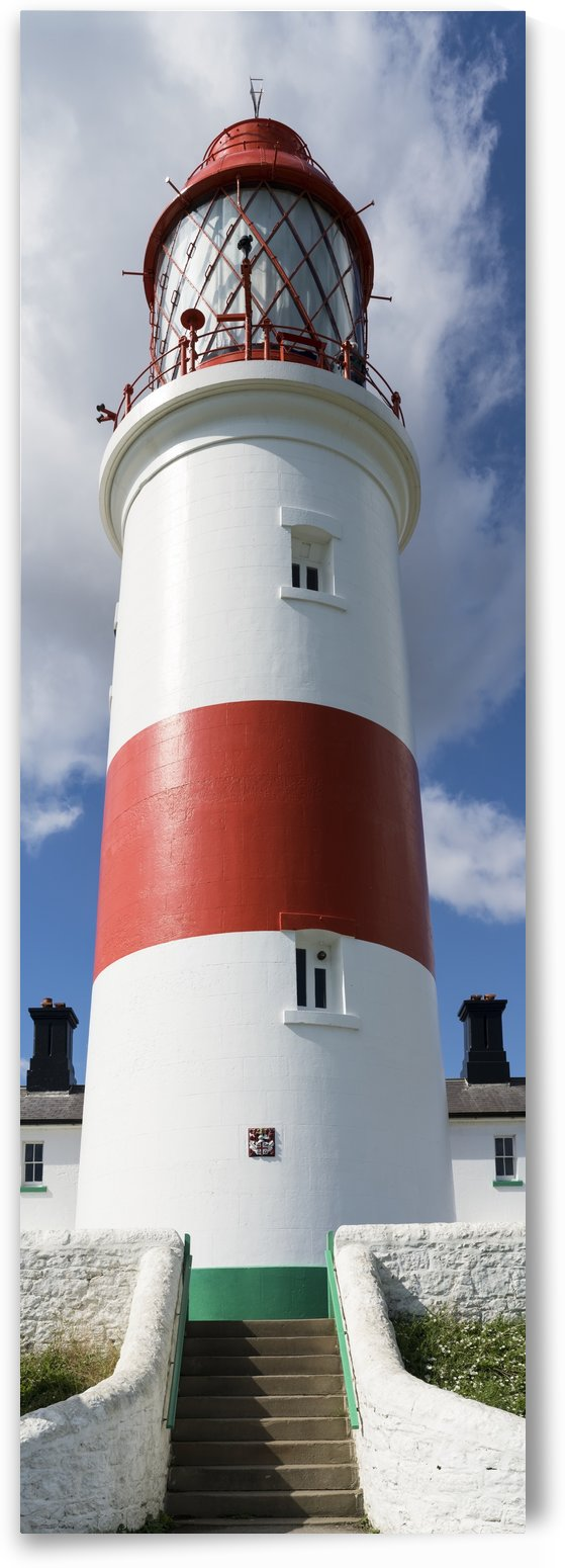 Souter Lighthouse, Marsden; South Shields, Tyne and Wear, England by PacificStock