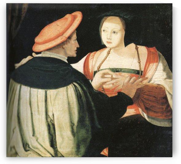 The engagement by Lucas van Leyden