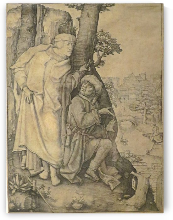 Susanna and the Elders by Lucas van Leyden