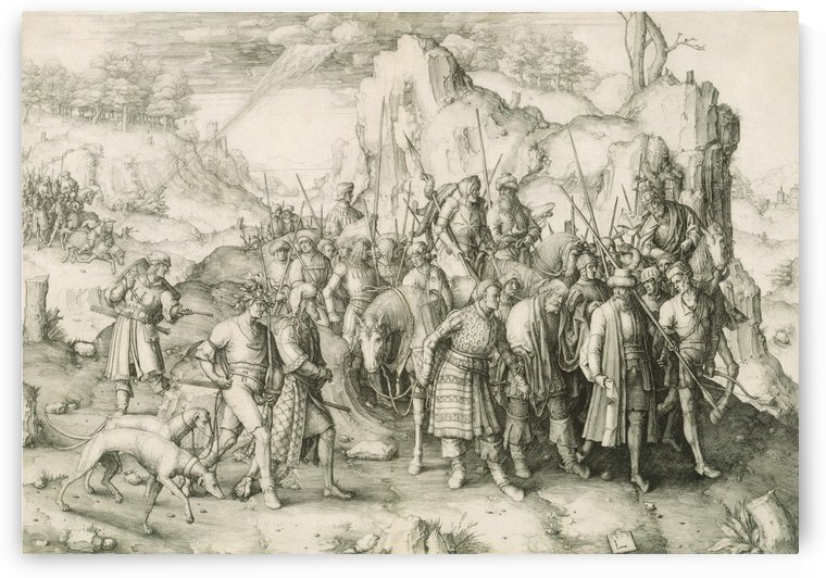 The Conversion of St Paul by Lucas van Leyden