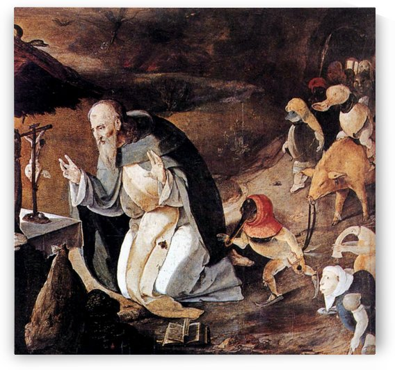 The Temptation of St Anthony by Lucas van Leyden
