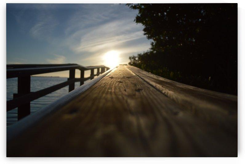 Sunset on Pier by Digitalu Photography