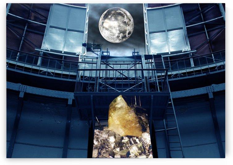 Surreal Full Moon by Mystic Art