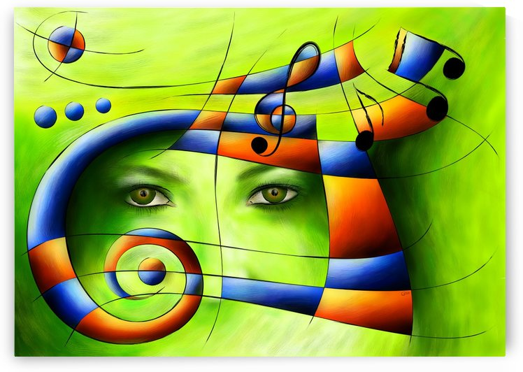 Hispanissia - painted music by Cersatti Art