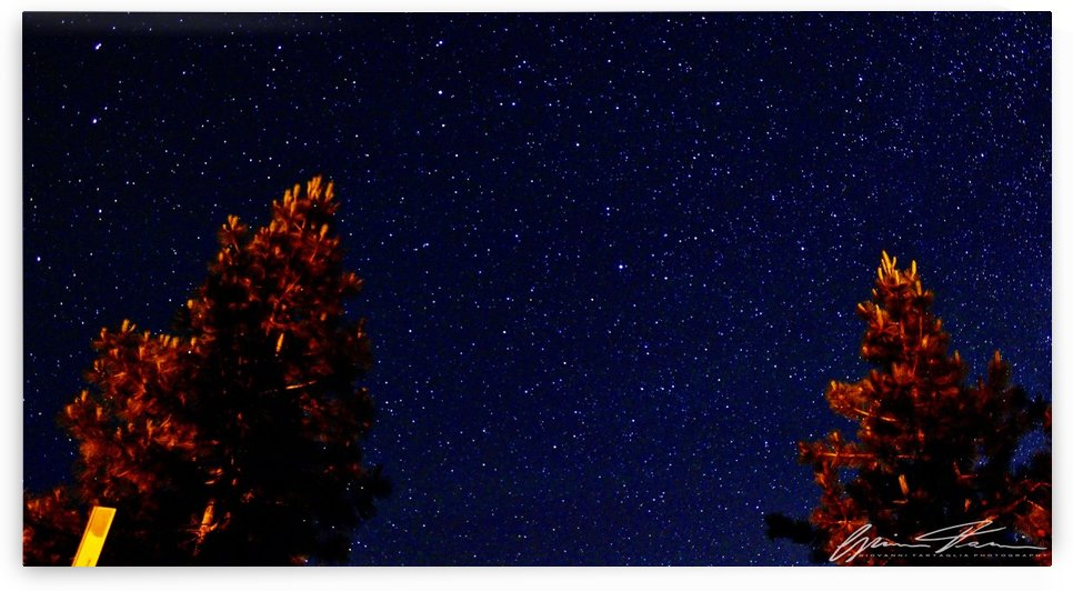 Nightsky in Lake Tahoe by Giovanni Tartaglia