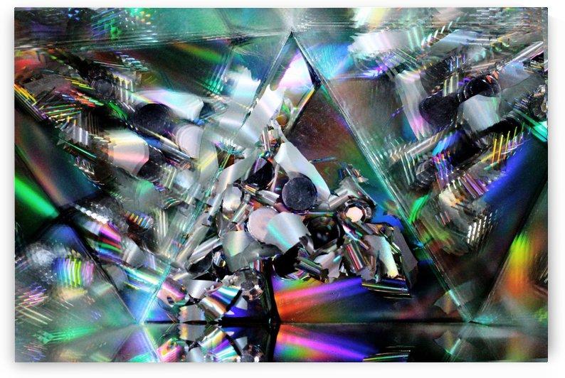 Rainbow Pyramid by Mystic Art