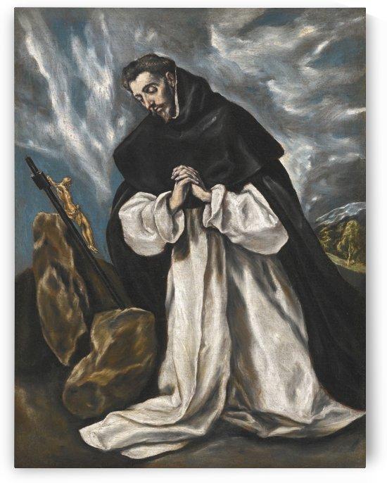 Saint Dominic in prayer by El Greco