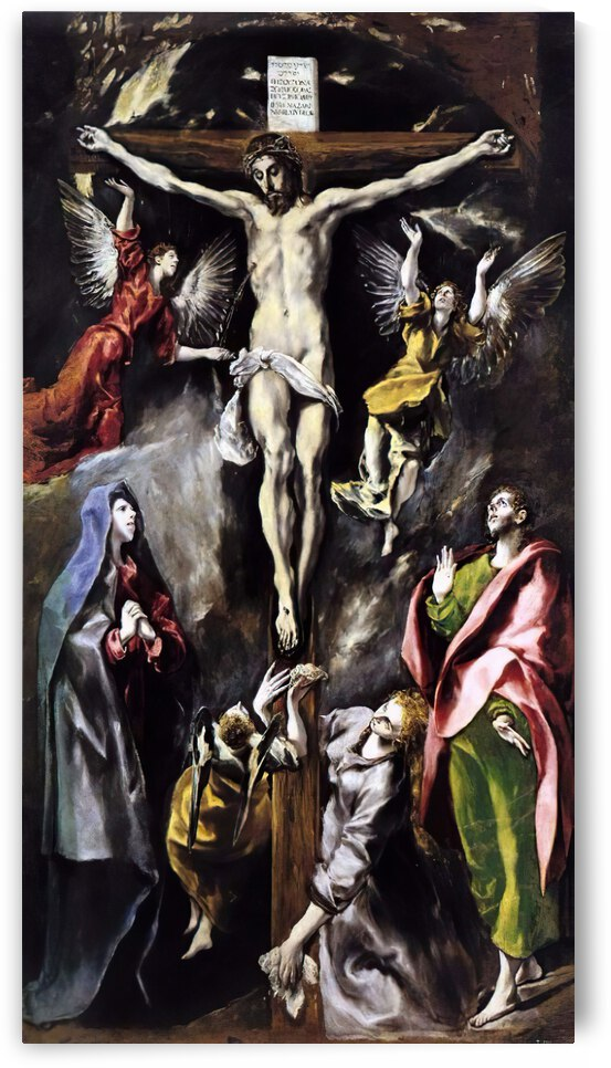 La Crucifixion by El Greco