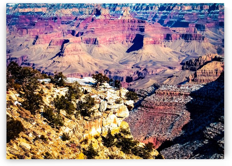 Desert view at Grand Canyon national park, USA by TimmyLA