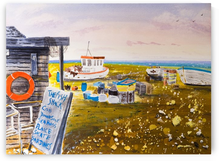 The Fish Shack by DHWebbArt
