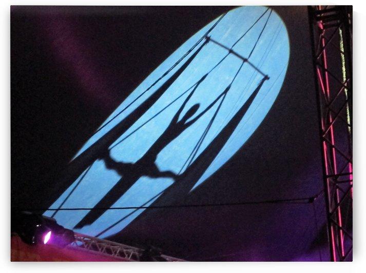 Circus shadow by Andy Jamieson
