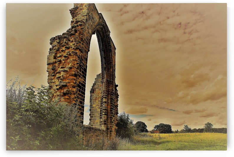 Abbey ruin by Andy Jamieson