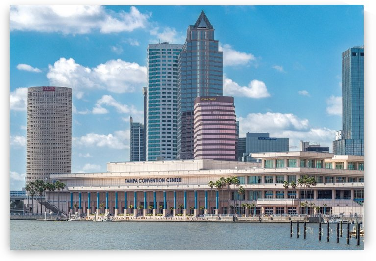 Tampa Bay Front by Melody Rossi