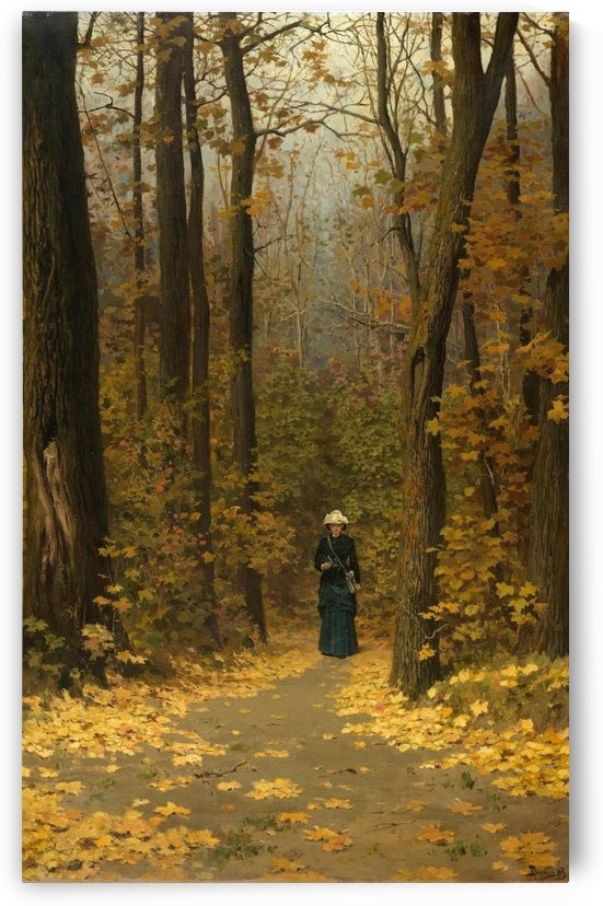 Autumn leaves by Vasili Dmitrievich Polenov