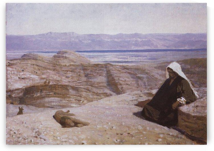 It was in the wilderness, 1909 by Vasili Dmitrievich Polenov