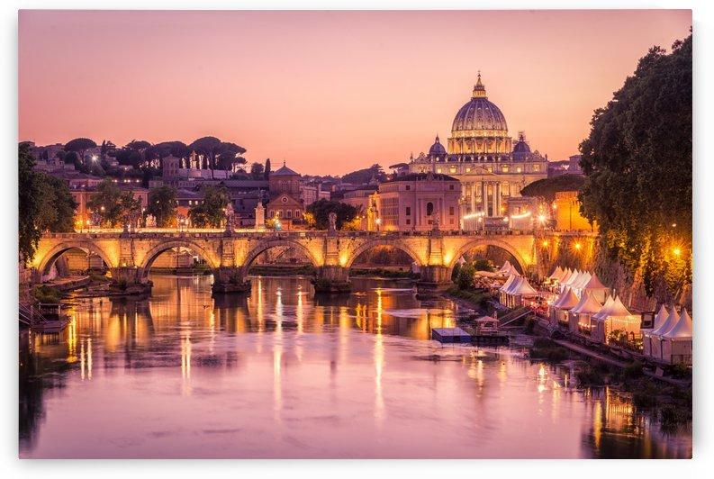 Golden Hour in Rome by Andrea Spallanzani