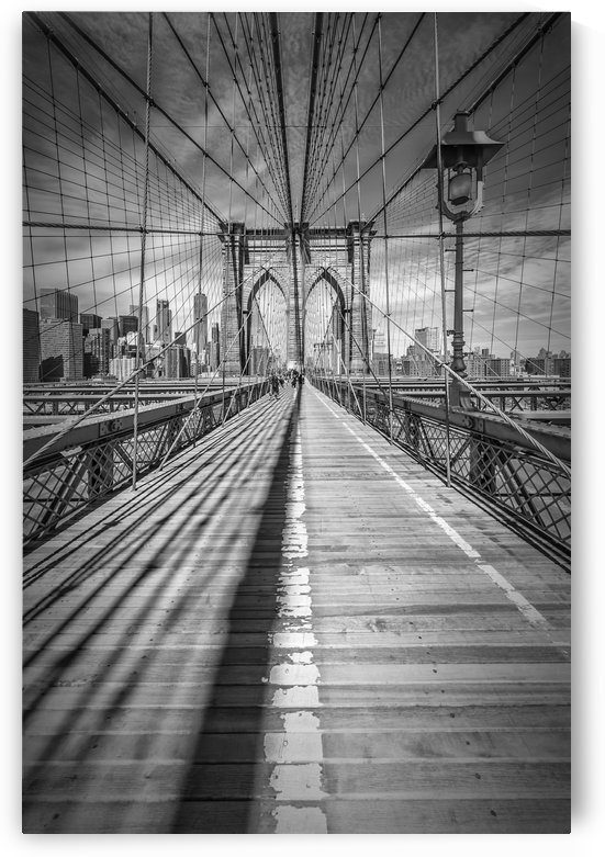 NEW YORK CITY Brooklyn Bridge by Melanie Viola