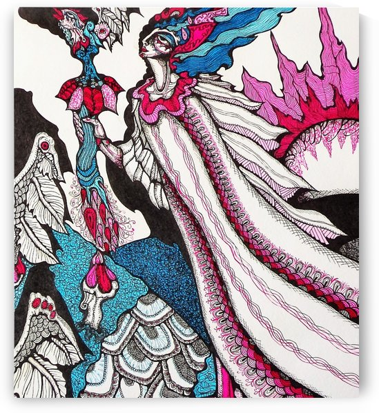 THE MESSENGER OF BEAUTIFUL by Lynn Kauffman