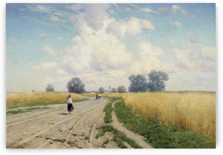 Doroga 1899 by Konstantin Yakovlevich Kryzhitsky