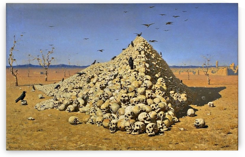Apotheosis of War by Vasily Vasilyevich Vereshchagin