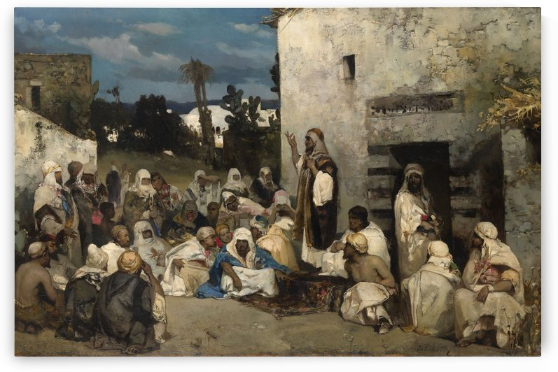The sermon at Capernaum by Vasili Alexandrovich Wilhelm Kotarbinsky