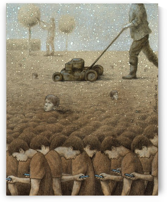 perfect garden by Pawel Kuczynski