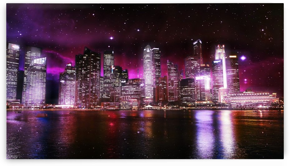 The city of lights by Christopher M Fry