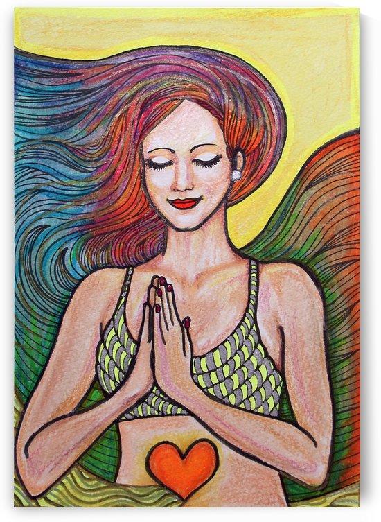 meditación colorida by Paula Valeria Fridman