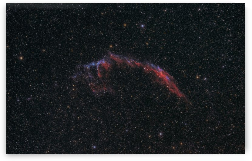 Eastern Veil Nebula by RichardBoudreauAstrophotography