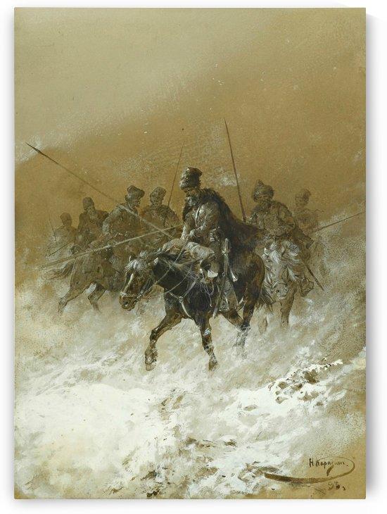Cavalry in the 1812 Campaign by Nikolai Nikolaevich Karazin