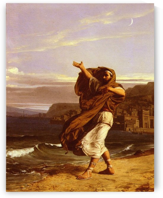 Demosthene practices by Jean Jules Antoine Lecomte du Nouy