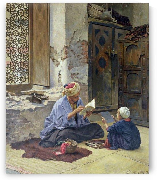 An Arab schoolmaster, 1889 by Ludwig Deutsch
