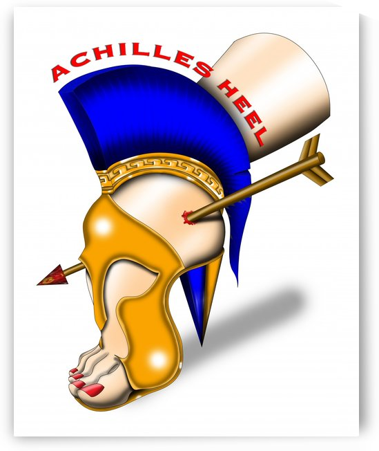 Achilles Heel by AnarKissed