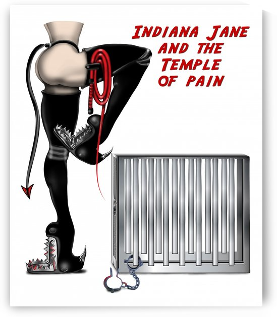 Indiana Jane & the Temple of Pain by AnarKissed