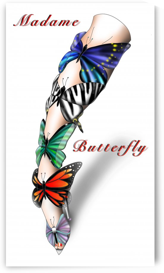Madame Butterfly by AnarKissed