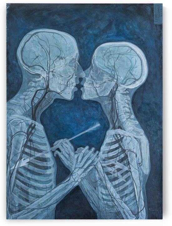 Love Slowly Kills VI by Adrian Borda