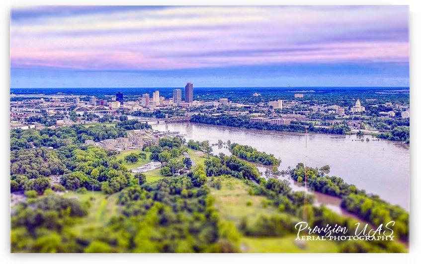 Little Rock, AR   Skyline by Provision UAS