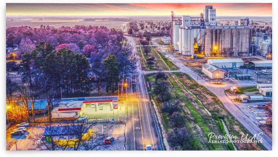 Lonoke AR | West down Hwy 70 by Provision UAS