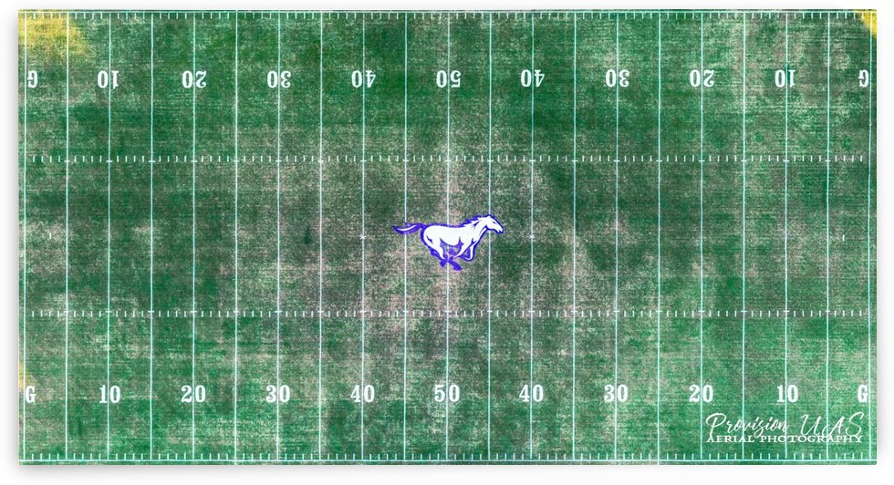 North Little Rock, AR | Mustang Football Field by Provision UAS