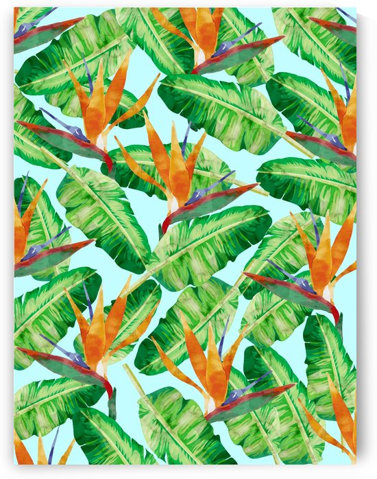 Tropical and exotic pattern III by Vitor Costa