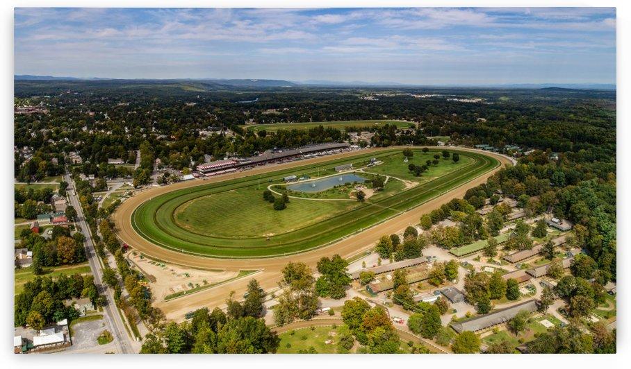 Saratoga Race Course 2017 Panorama by Josh Stephen